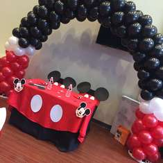 Brittany and Keith's Baby Shower - Mickey Mouse