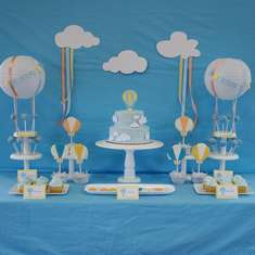 Hot Air Balloon Baby Shower - Hot Air Balloon