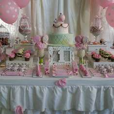 Little Cute Bird Party - Shabby chic