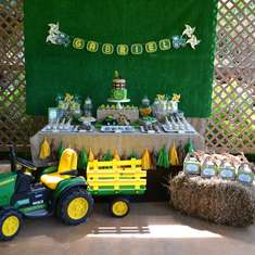 John Deere Tractor Party Ideas