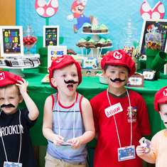 Super Mario 5th Birthday - Super Mario Bros