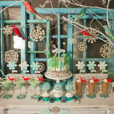 Whimsical Winter Wonderland Party  - Winter Wonderland Party
