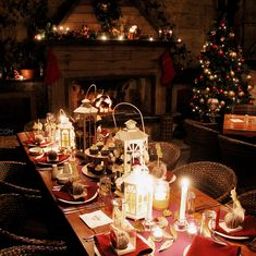 A Rustic Glam Birthday Dinner - Rustic