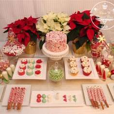 Christmas Dessert Table - Christmas