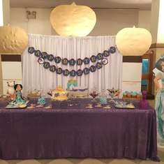 Gabriella's 1st Birthday  - Princess Jasmine