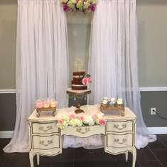 C & J Engagement Party - Vintage/ Shabby Chic