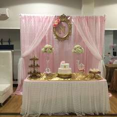 Lace and Pearls Babyshower - Vintage