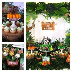 Jungle Themed First Birthday - Jungle Themed First Birthday