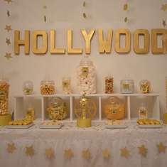 Hollywood Oscars Sweet Table - Hollywood Oscars