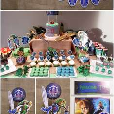 Camron's Zelda Party  2015 - Legend of Zelda