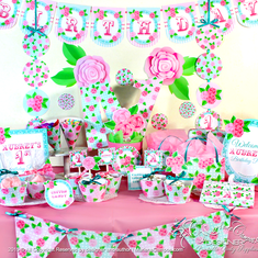 Shabby chic party decoration - Shabby chic