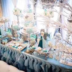 Frozen birthday decoracion - Frozen
