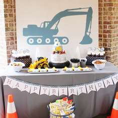 Harrison's 4th Construction Party - Construction