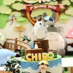 Chiro is Turning One - Totoro