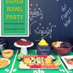Super Bowl Party - Football