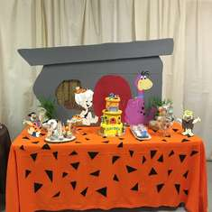 Zayden's 2nd Flintstones Birthday  - Flinstones