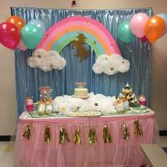 Lailah's Whimsical Unicorn Birthday  - Pastel Unicorn