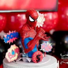 Julian's Spidey Party - Spiderman