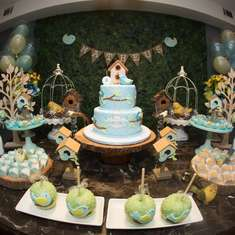Matheus first Birthday!! - rustic Birthday Party