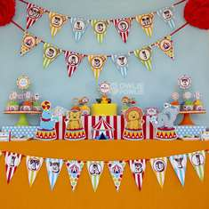 Circus Carnival Baby Shower - Circus / Carnival