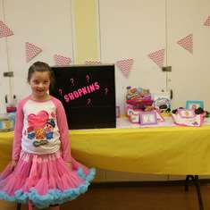 Emma's Shopkins Party - Shopkins