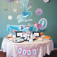 Ryleigh's Magical Mermaid Birthday Party  - Mermaids
