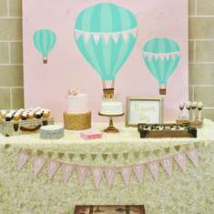 Shyla's Vintage Hot Air Balloon 1st Birthday Party - Hot Air Balloon
