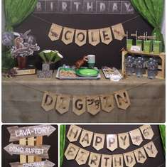 Jurassic World Inspired Dinosaur Party - Dinosaur