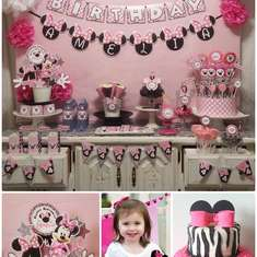 Minnie Mouse Pink Birthday - Minnie Mouse