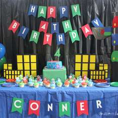 Conner's PJ Masks 4th Birthday - PJ Masks