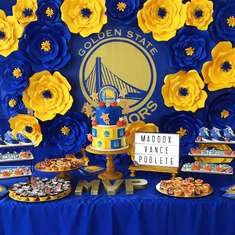 MVP Baby Shower  - Golden State Warriors