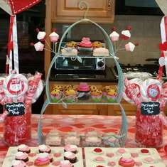 Christina's 12th Birthday - February 2015 - Valentines Day theme