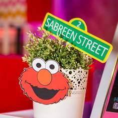 Sabreen's Elmo themed 2nd birthday party - Elmo
