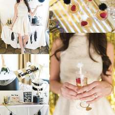 Last Fling Before The Ring - Last Fling Before The Ring: Black & Gold Bachelorette Party
