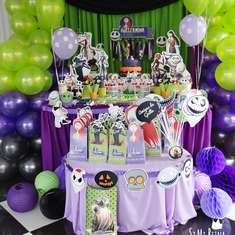 nightmare before christmas and gu birthday - Nightmare Before Christmas Birthday Decorations