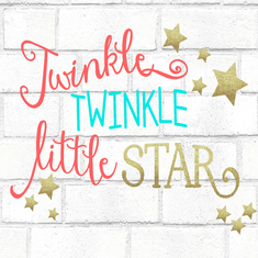 """ TWINKLE TWINKLE LITTLE STAR"" - Gender Reveal"