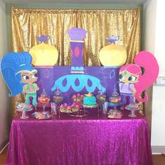 Sya's Shimmer and Shine 1st Birthday  - Shimmer and Shine