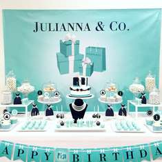 Julianna's First Birthday Party - Tiffany's