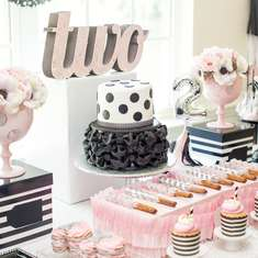 Black Party Ideas For A Girl Birthday