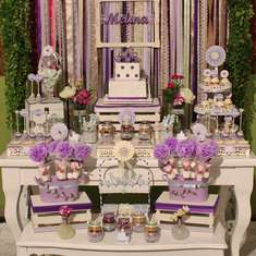 Violet & Lilac Sweet Party  - Shabby chic