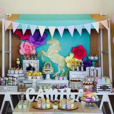 Camila's Enchanted Unicorn Party - Unicorns, rainbow And Fun