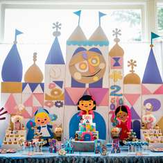 Sara's It's A Small World Birthday Celebration - It's A Small World