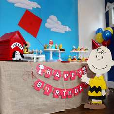 Peanuts 1st Birthday Party - Peanuts/Charlie Brown