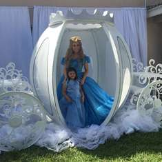 Bella's Cinderella party  - Cinderella