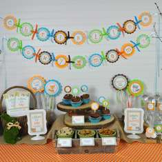 Woodland Animals Baby Shower - Foxy Mama