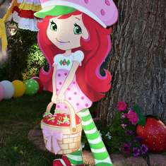 Fallon's Berry Best Birthday  - Strawberry Shortcake