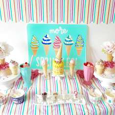 Sprinkles Ice Cream Party - Ice Cream Party