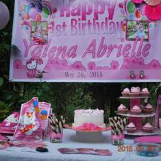 Yalena's 1st Birthday Party Samal Version (A Hello Kitty Theme Party) - Hello Kitty