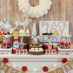 RUSTIC & COZY HOT COCOA BAR! - Rustic