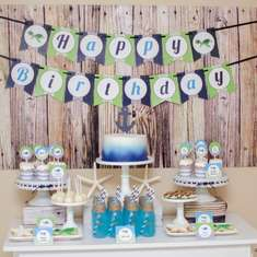 Tyler's 5th Birthday: Under the Sea Party - Under the Sea